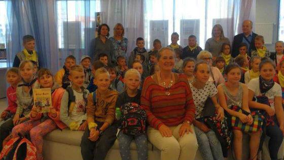 Spotkanie z dziećmi bibliotece w Olsztynie