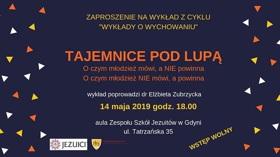 Zaproszenie na wykład dr Elżbiety Zubrzyckiej