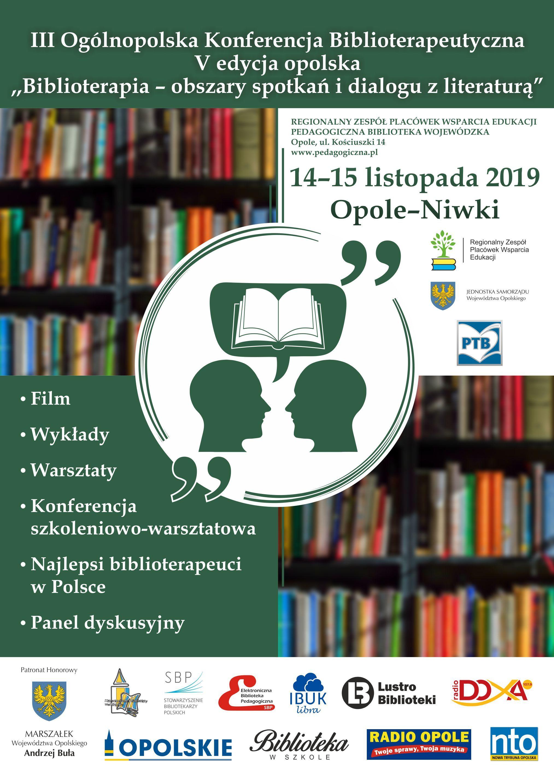 III Konferencja Biblioterapeutyczna 1